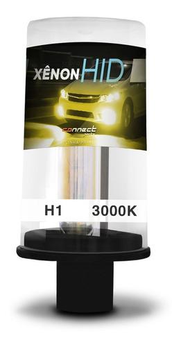 Lâmpada Xênon Reposição H1 3000k 35w 12v Tom Amarelo Gold