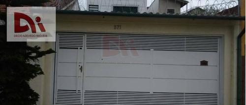 Sobrado Com 3 Dormitórios À Venda, 180 M² Por R$ 600.000,00 - Centro - Taubaté/sp - So0020