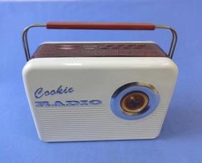 Lata Formato Radio Antigo - Cookie Radio