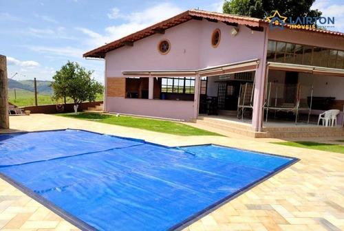 Chácara Em Condomínio Fechado  À Venda, Canedos, Piracaia. - Ch0015
