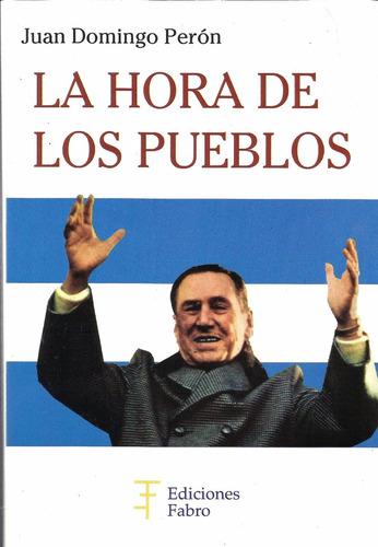 Imagen 1 de 3 de La Hora De Los Pueblos. Ediciones Fabro