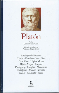 Filosofia - Platon - 3 Tomos - Gredos - Libros Nuevos
