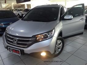 Honda Cr-v 2.0 Exl 4x4 Aut. 5p Gasolina/ 2012/ Prata