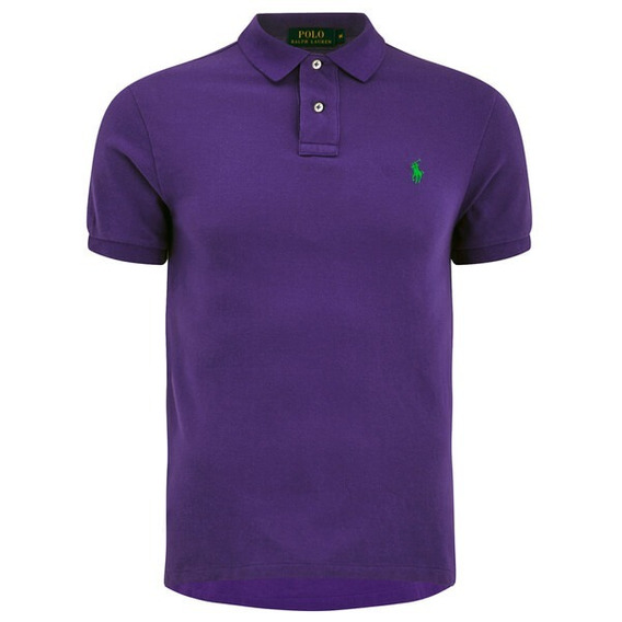 Playera Polo Xl Polo Ralph Lauren Deep Plum Original Morada