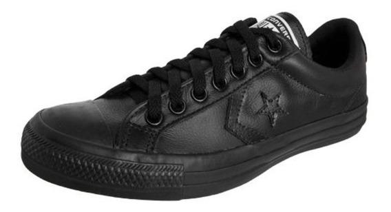 Tênis Converse Star Player Leather Ox Preto Tam.42 Original