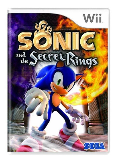 Sonic And The Secret Rings Wii Mídia Física Pronta Entrega