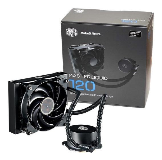 Water Cooler Masterliquid Lite 120 Cooler Master Am4+ 1151