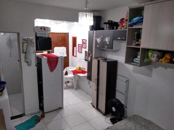 Kitnet Em Centro, Santos/sp De 30m² 1 Quartos À Venda Por R$ 99.000,00 - Kn328932