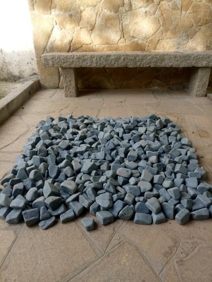 Pedra Seixo Preto Saco 40 Kg (consultar Frete).