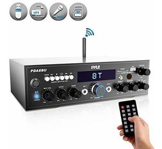 Receptor De Amplificador Estéreo Bluetooth Pyle Sistema De