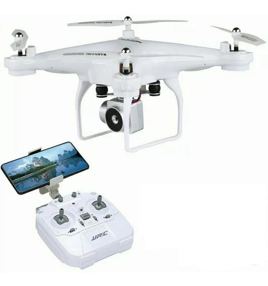 Drone Com Camera 720p Jjrc H68 Hd 20min Branco + Brinde