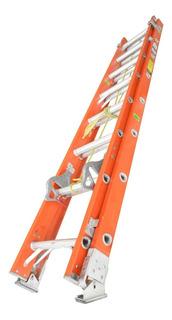 Escalera De Fibra De Vidrio 16 Peldaño 136klgs-4.88mts