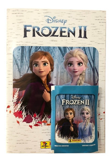 Figuritas Frozen 2 (2020) - Album + 25 Sobres. Fyj