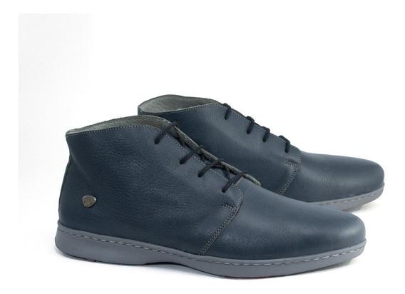 Cavatini Botitas Hombre Botas Zapatos Cuero Vacuno Promoción