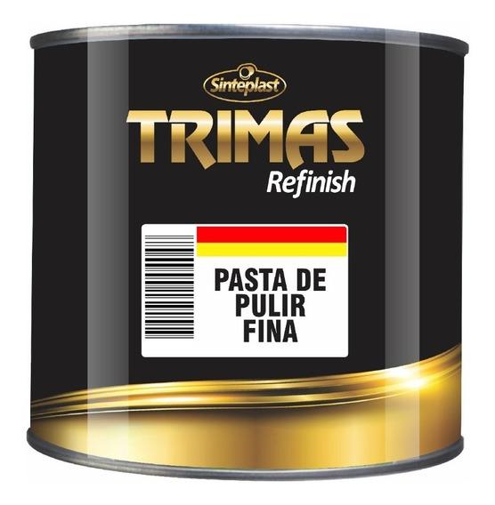 Pasta De Pulir Fina 1 Kg Auto Brillo Trimas Pintumm