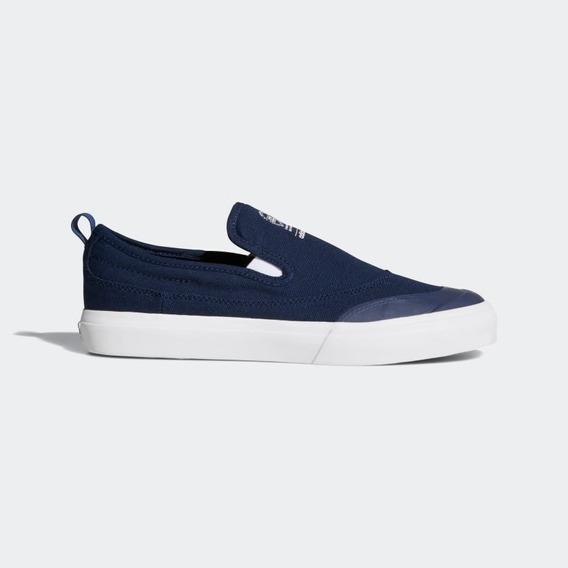 Zapatillas adidas Matchcourt Slip-on Azul Envíos Rápidos