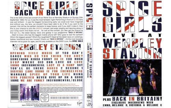 Spice Girls - Live At Wembley Stadium - Dvd - U