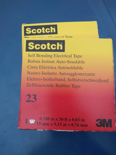 Teipe Goma 3m / Scotch 23
