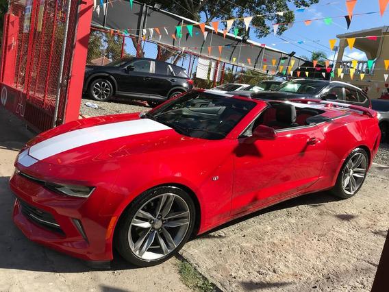 Chevrolet Camaro 2017 Rs Convertible Push Botón Recién Impor
