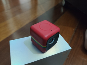 Câmera Polaroid Cube Vermelha