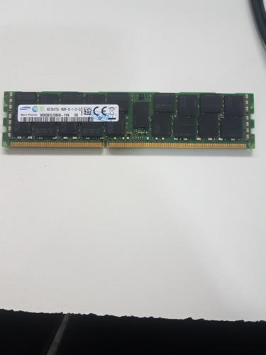 Imagem 1 de 2 de Memoria 16gb 2rx4 Pc3l-10600r Dell C1100 C2100 C6100 C6105 M610 M610x M710 M710hd M910 R410 R415 R510 R515 R610 R710