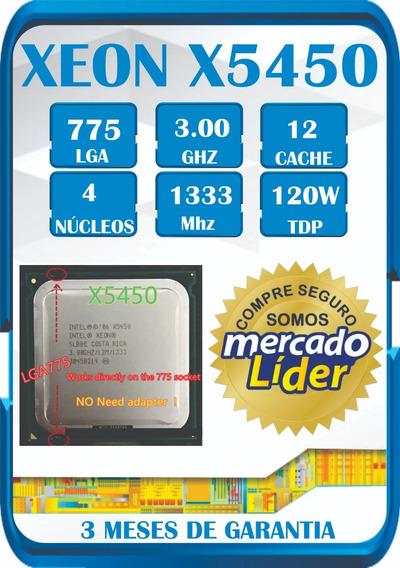 Processador Intel Xeon X5450 3.00 Modificado Para Lga 775 ¨