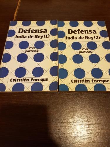 Imagen 1 de 1 de 2 Libros 250 Partidas De Defensa India De Rey - Ajedrez