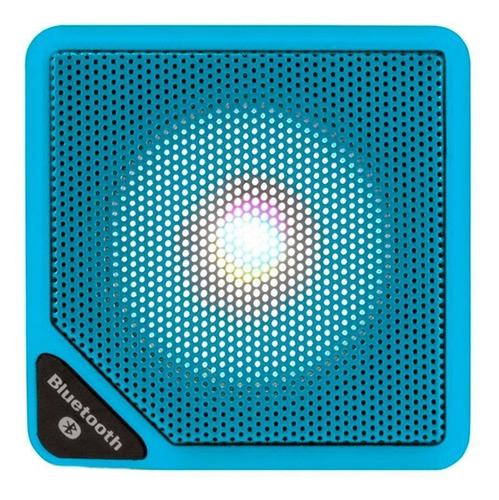 Imagem 1 de 3 de Caixa De Som Bluetooth Multilaser Cubo 3w Várias Cores
