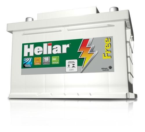 Bateria Heliar Free 75 Amp Libre Mantenimiento 18 Meses Gtia