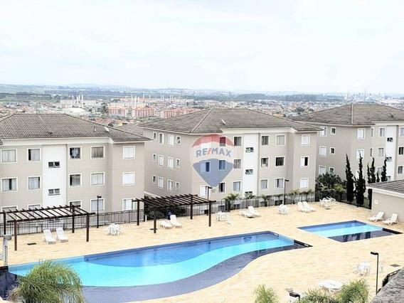 Apartamento Com 2 Dormitórios À Venda, 46 M² Vida Bella 2 - Vila Bela Flor - Mogi Das Cruzes/sp - Ap0362