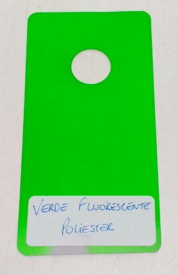 Tinta Verde Fluorescente Automotiva Pu 750ml + Cat 150ml