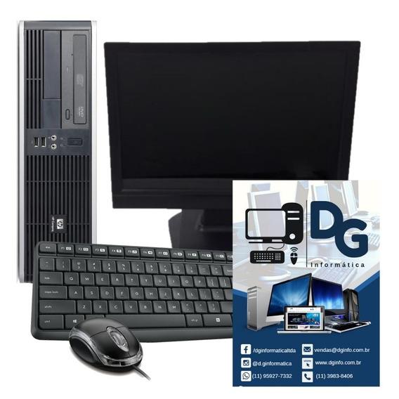 Kit Computador Hp Pentium D 160gb 2gb Monitor 15