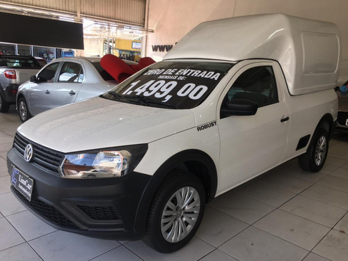 Volkswagen Saveiro Robust 1.6 Completa 2019 Unico Dono