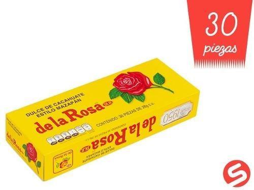 Mazapan La Rosa 30pzs