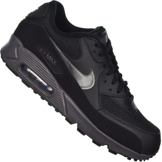 Tênis Nike Air Max 90 Essential Preto/cinza
