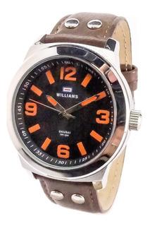 Reloj Williams By Okusai Acero Hombre Garantía Oficial 12 M.