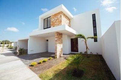 Casa Nueva En Venta En Privada Gran Valle, Modelo C, Cholul, Mérida Norte
