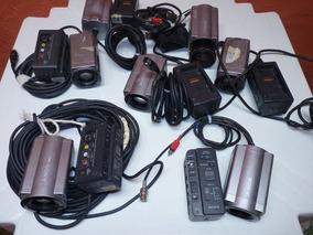 Lote Com 7 Camera Sony Cvx-v18nsp Color Video-leia O Anuncio