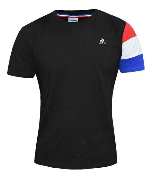 Remera Le Coq Sportif Tri Sp Bbr Tee Ss Moda Negra Original
