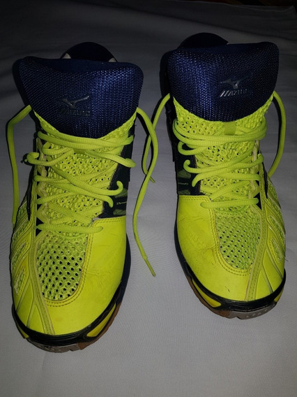 Zapatillas Mizuno Voley Wave Tornado X (talle Us 12)