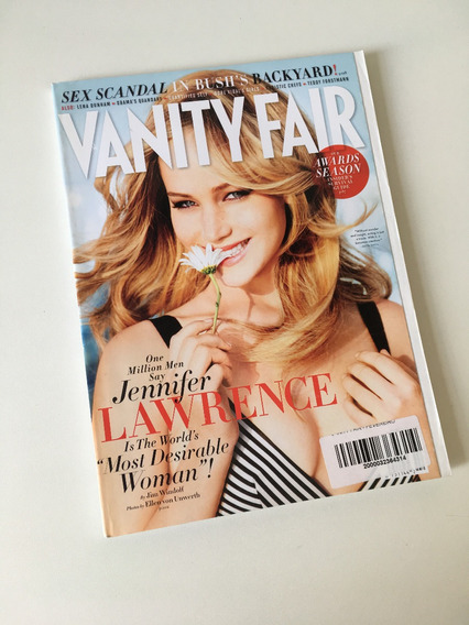 Revista Vanity Fair - Fevereiro 2013 Jennifer Lawrence