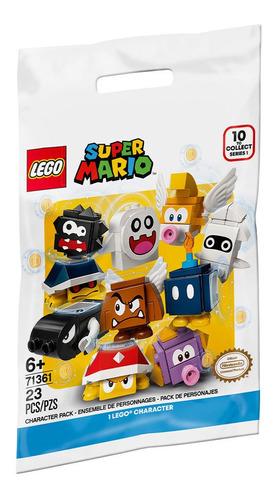 Imagem 1 de 1 de Lego Super Mario - Pacote Mini Figuras Dos Personagens-71361