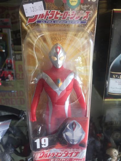 Lote 8 Bonecos Kamen Raiden Ultraman Bandai Na Caixa