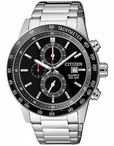 Relógio Citizen Masculino Prata Tz31169t Multi Função