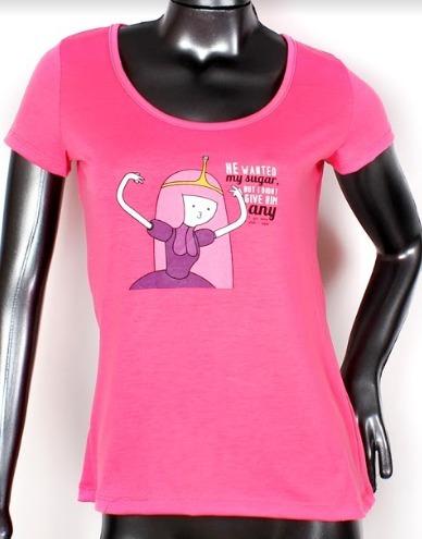 Remera Dulce Princesa / Adventure Time /cartoon Network/geek