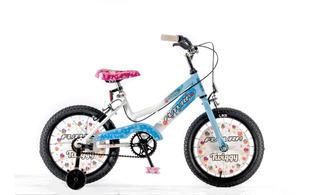 Bicicleta Infantil Nena Futura Rod.16 Twiggy Con Rueditas
