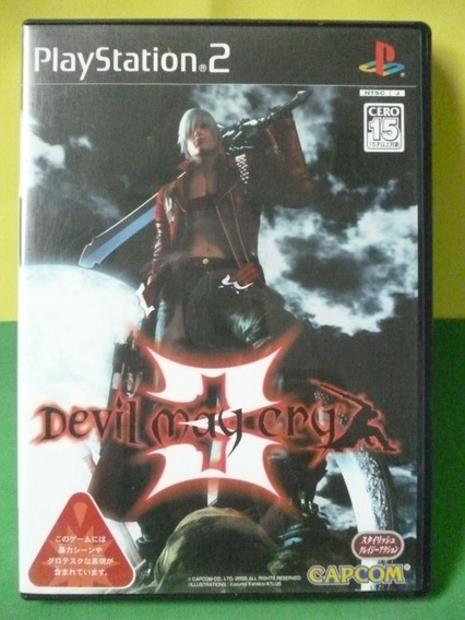 Devil May Cry 3 Playstation 2 Original Japones