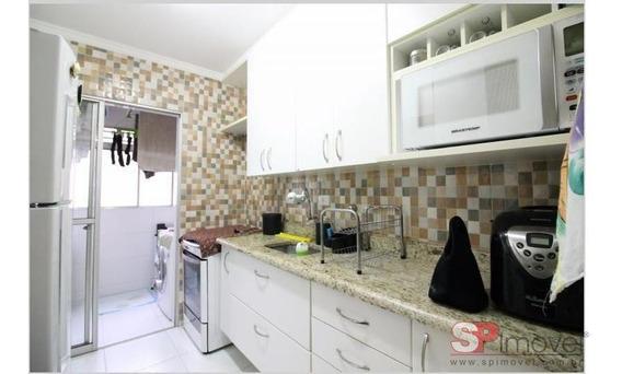 Apartamento Para Venda Por R$265.000,00 - Sacomã, São Paulo / Sp - Bdi23846