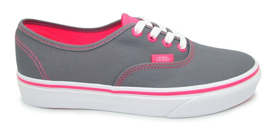 Tenis Vans Authentic Neon Pop Vn000scq7n0 Frost Grey Pink