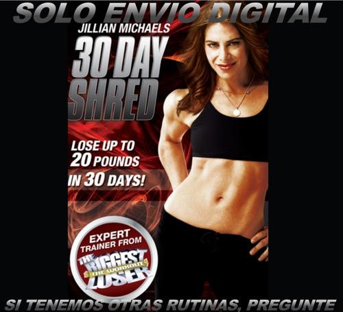 Jillian Michaels 30 Dias Para Definir Fitness Sin Pesas
